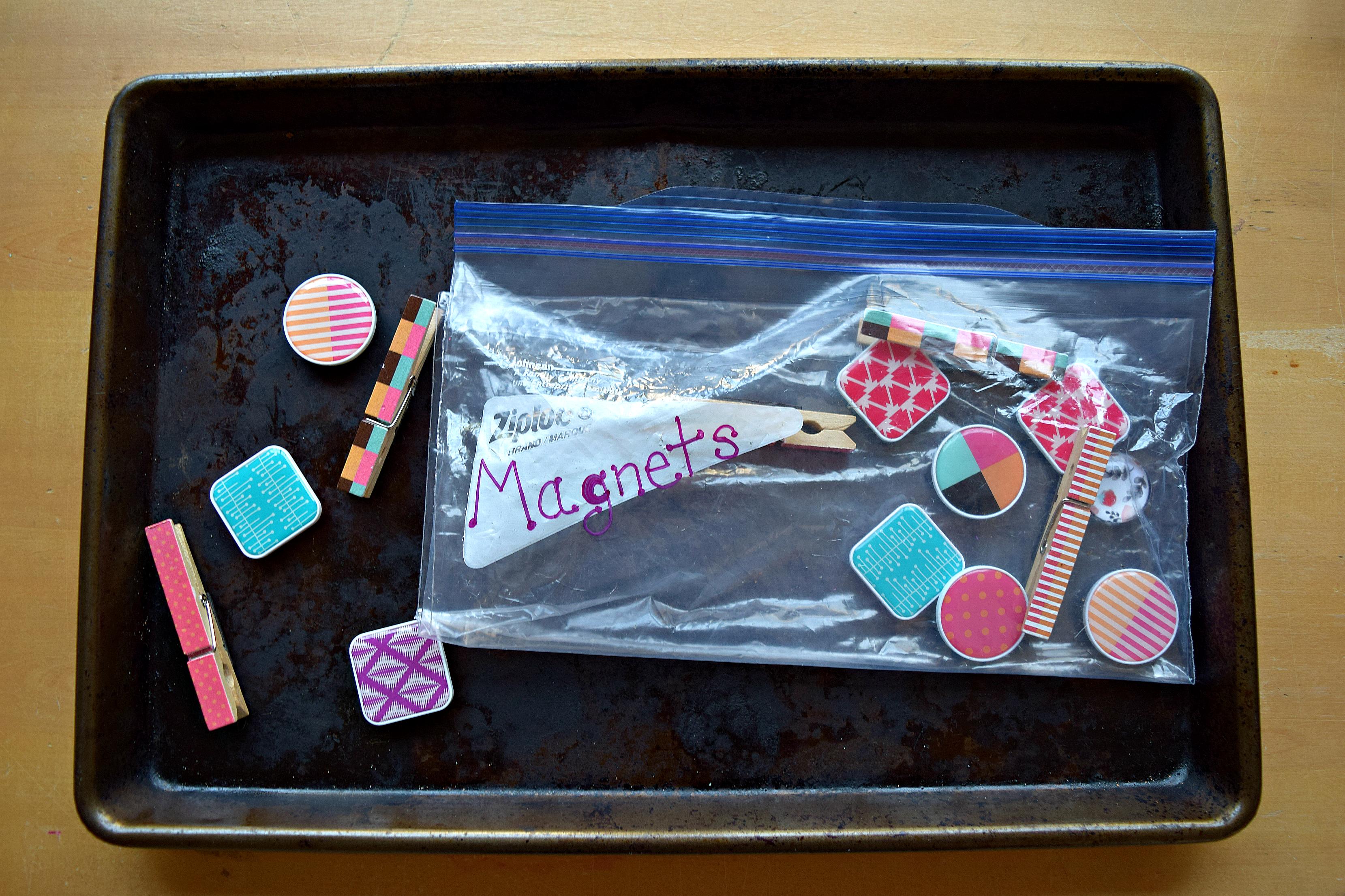 Magnets. Car.