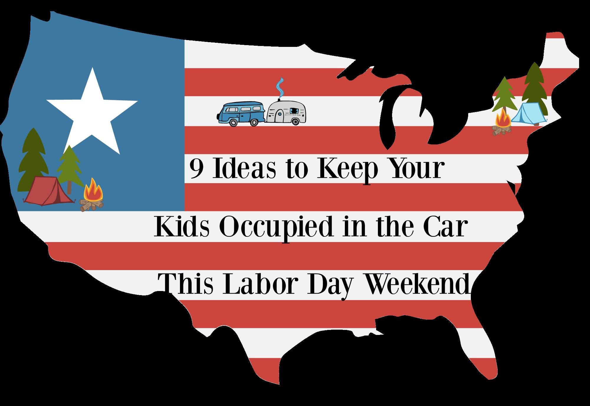 USA Labor Day. Car.