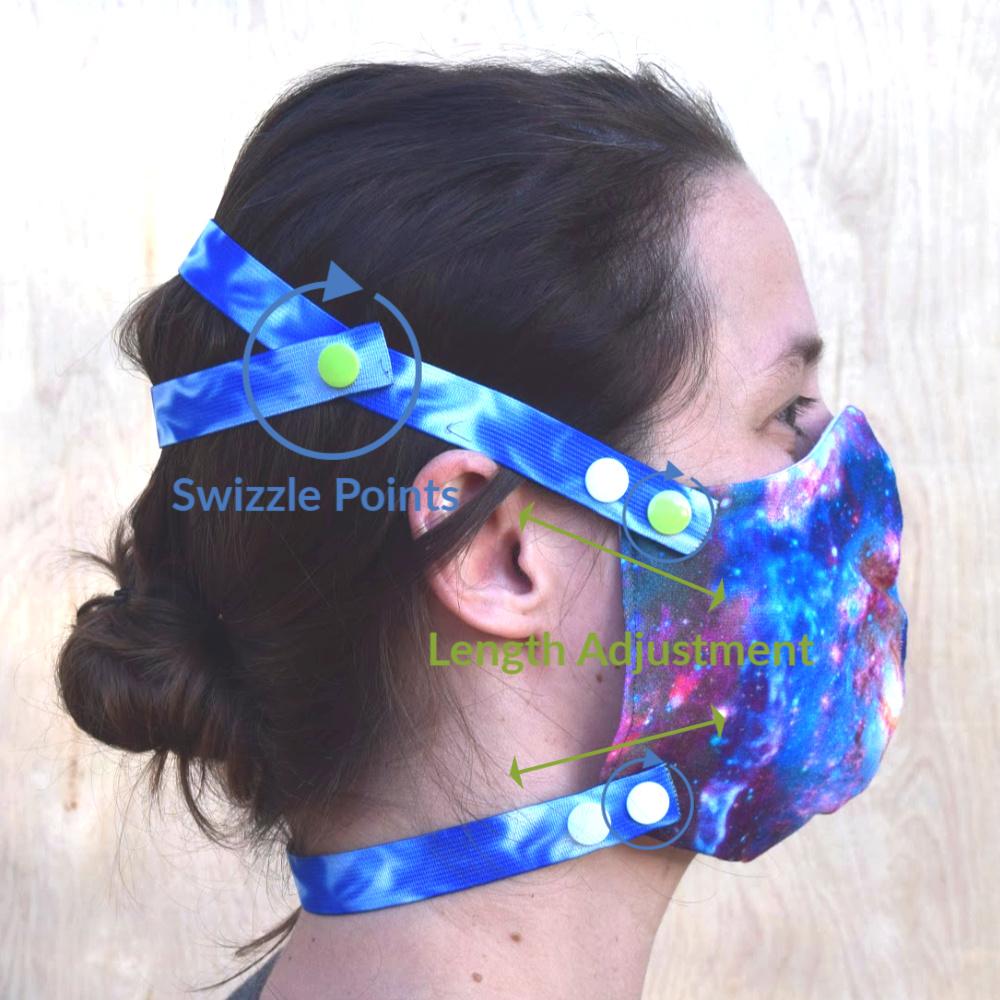 Comfort Strap Face Mask Starter Kit